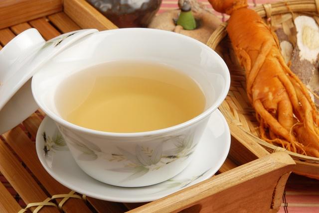 Chá de ginseng