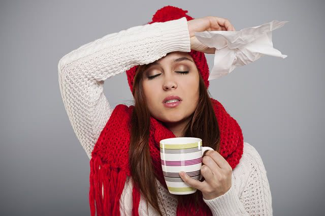 Chás de ervas podem não só aliviar os sintomas da gripe como tratá-la