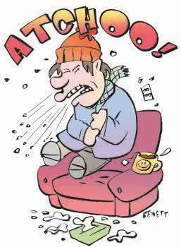 Receitas de chás contra a gripe