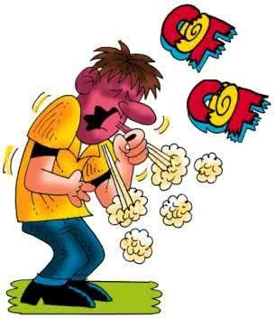 Tosse, um dos sintomas da bronquite