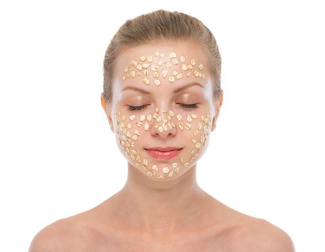 Máscara de aveia