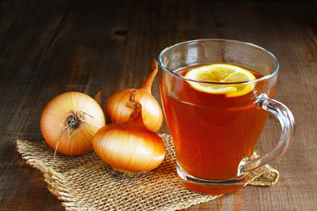Chá de cebola
