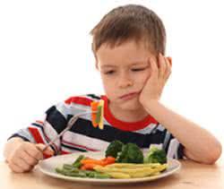 As crianças são as que mais sofrem com o problema da falta de apetite