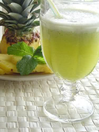 Suco verde, uma bebida saborosa e cheia de propriedades