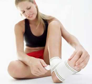 Tratamento para bolhas nos pés