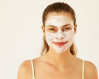 Máscaras para a pele
