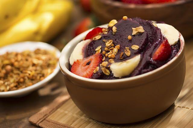 O açaí é de longe um dos alimentos com maiores poderes antioxidantes