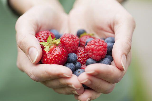 As frutas vermelhas ativam a circulação e auxiliam na eliminação de escretos
