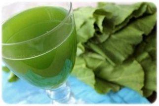 Os benefícios do suco de couve