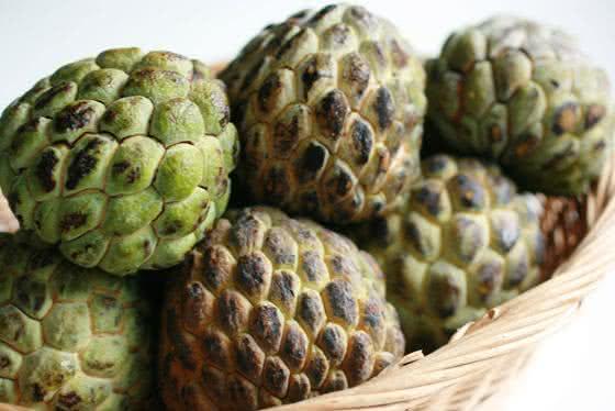 Os benefícios da pinha (fruta do conde)