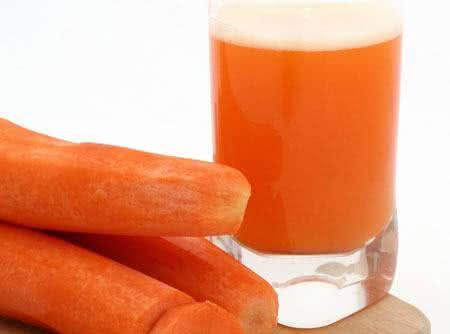 Suco de cenoura, um ótimo emagrecedor