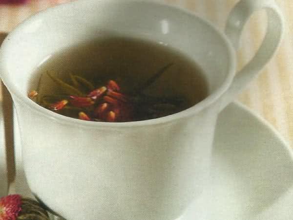 Chá de amaranto - Ótimo para controlar o colesterol