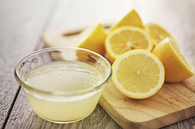 O molho do limão pode ser facilmente preparado em casa