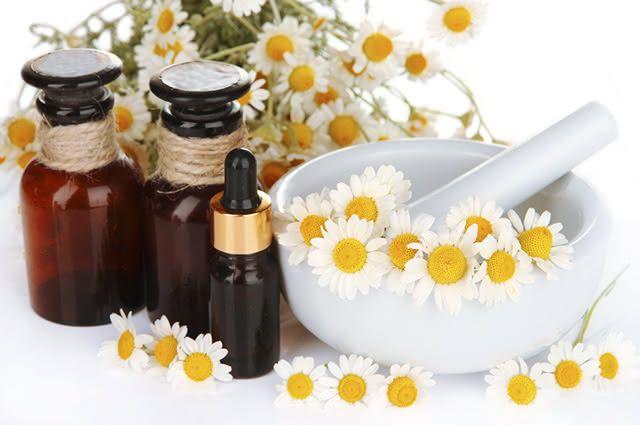 O óleo de camomila também pode ser usado para tratar problemas dermatológicos