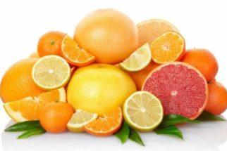 Os benefícios das frutas cítricas