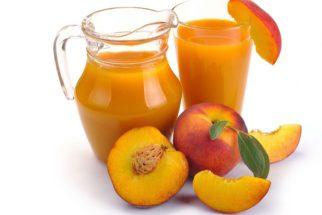 Suco de pêssego é bom para o coração e previne câncer
