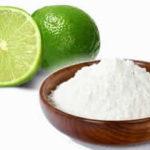 Bicarbonato com suco de limão e seus usos