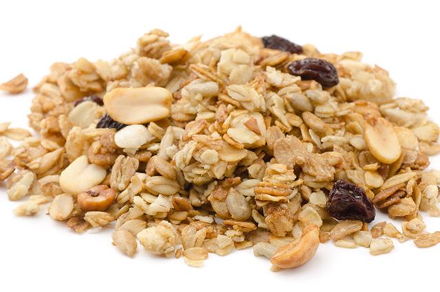 Porção de granola