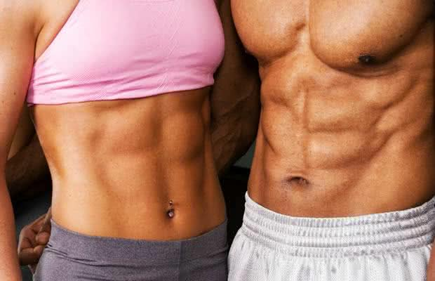 body fat percentage for six pack abs