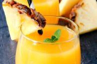 Suco de casca de abacaxi ajuda a emagrecer