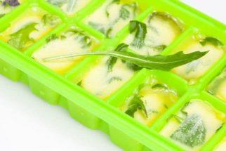 Aprenda a congelar os temperos no azeite
