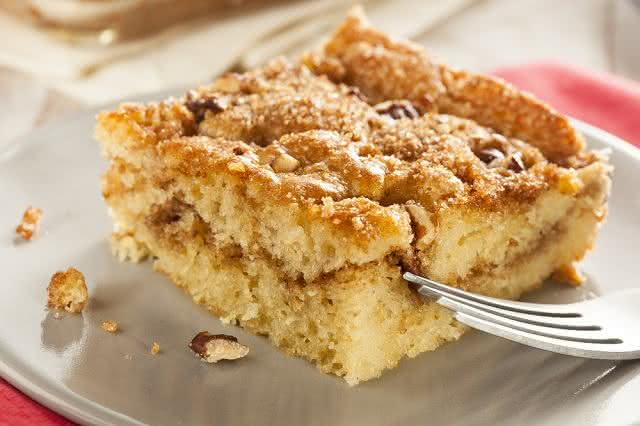 Imagem de bolo em prato