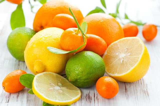 Imagem de frutas cítricas