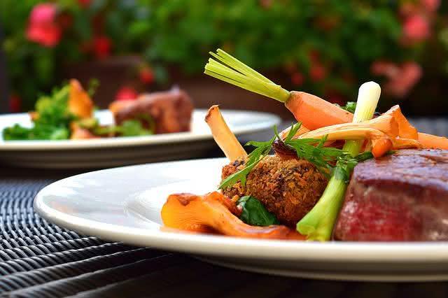 Imagem de prato de refeição