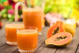 Benefícios e propriedades do suco puro de mamão