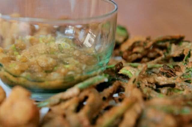 Conheça e aprenda como fazer um saboroso tempurá de legumes