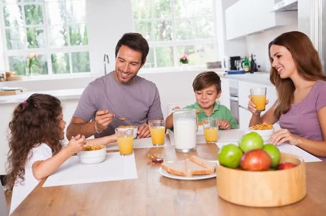 Receita para um café da manhã contra o colesterol