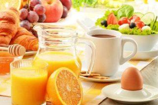 Cardápio fitness de café da manhã para a semana toda