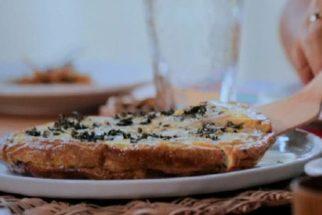 Conheça e aprenda a preparar em casa a deliciosa fritatta de inhame