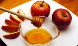 Jewish New Year - Rosh Hashanah - Apple and Honey.