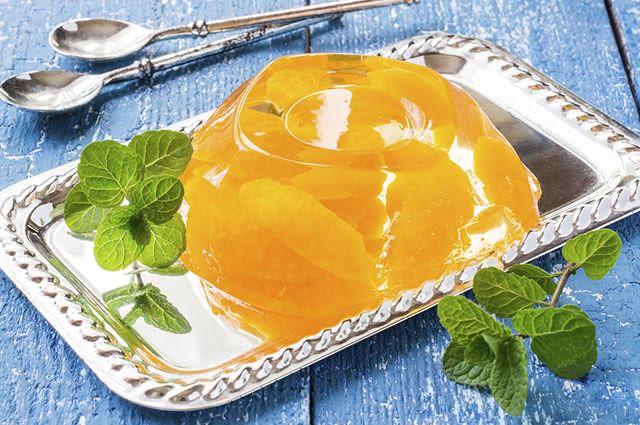 Por dar saciedade, basta consumir uma pequena porção da gelatina