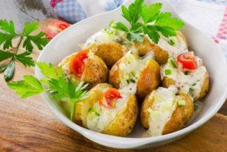 Que tal fazer um delicioso prato de batata recheada para o Réveillon