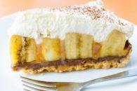 Se surpreenda com essa deliciosa torta de banana com cacau