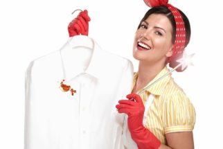 Como tirar manchas de gordura das roupas