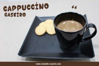 Dias frios combinam com cappuccino. Prepare essa bebida deliciosa em casa