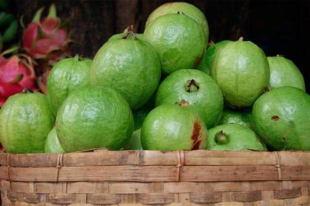 Comidas ricas em vitamina C - Goiaba