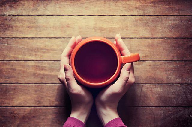 Xícara com chá