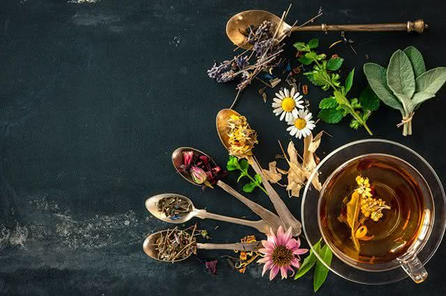 Chás emagrecem, relaxam ou curam doenças