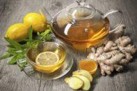 5 receitas de chás gostosos, refrescantes e benéficos à base de gengibre