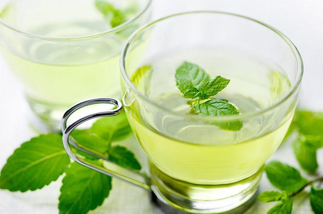 A menta é uma das ervas mais refrescantes para fazer chá