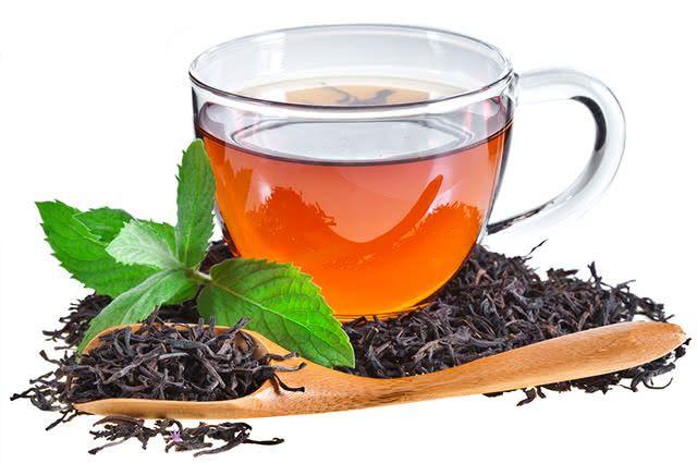 Chás para despertar! Chá Preto