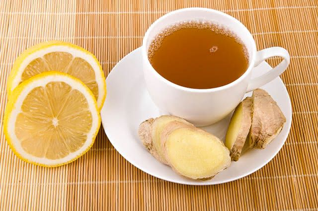 Chás para despertar! Chá de Gengibre