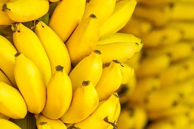 Frutas que prendem o intestino - Banana