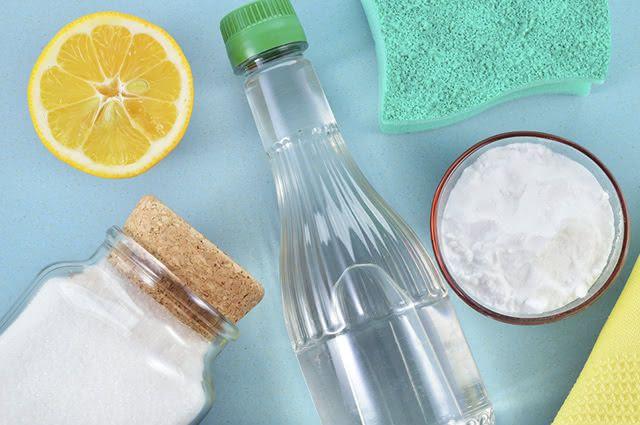 O bicarbonato de sódio agride menos o meio ambiente do que os produto de limpeza