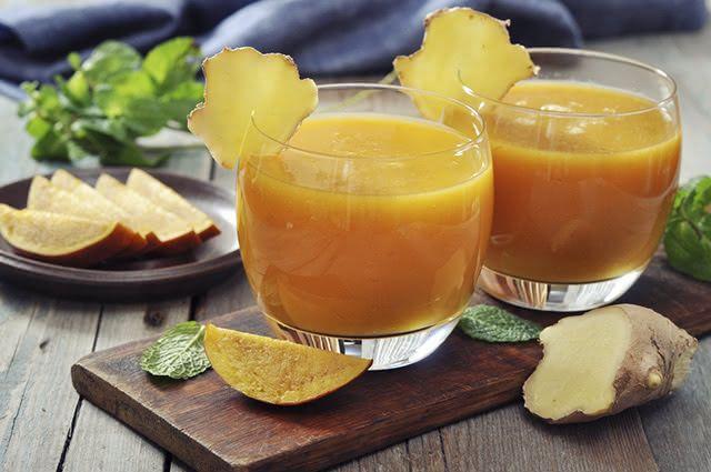 O suco de manga e gengibre promove o emagrecimento a partir do efeito antioxidante e termogênico