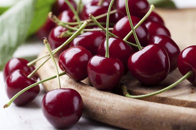 As cerejas possuem propriedades analgésica e anti-inflamatória